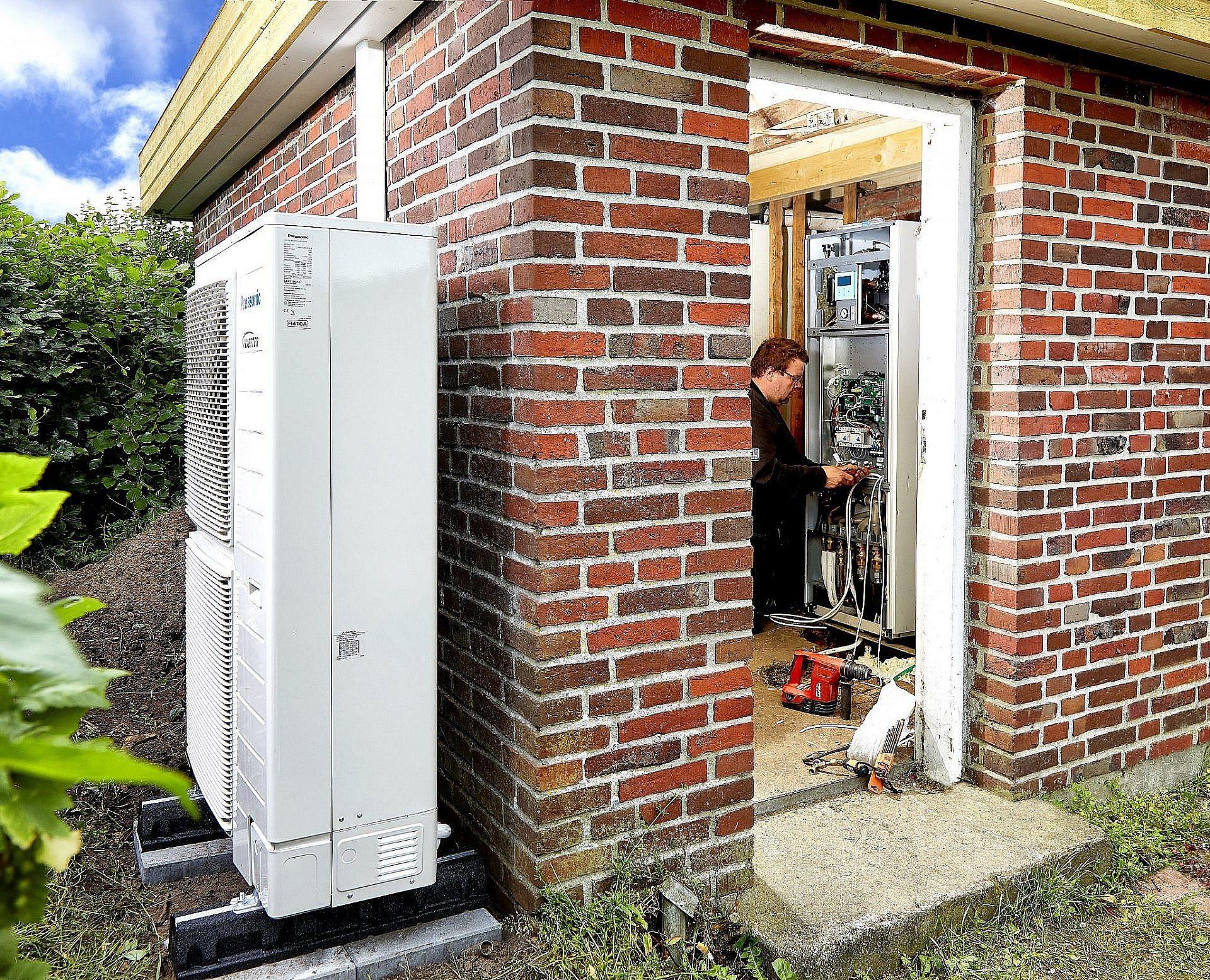 Varmepumper montering Ølgod Varde Grindsted