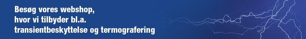 EL-sikkerhed med termografering og transientbeskyttelse