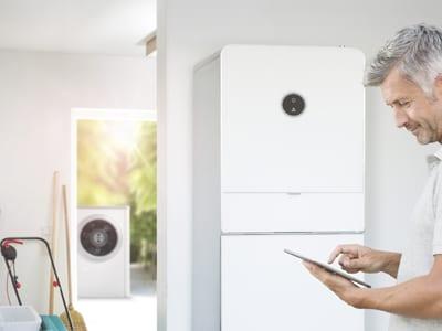 Bosch luft-vand varmepumpe