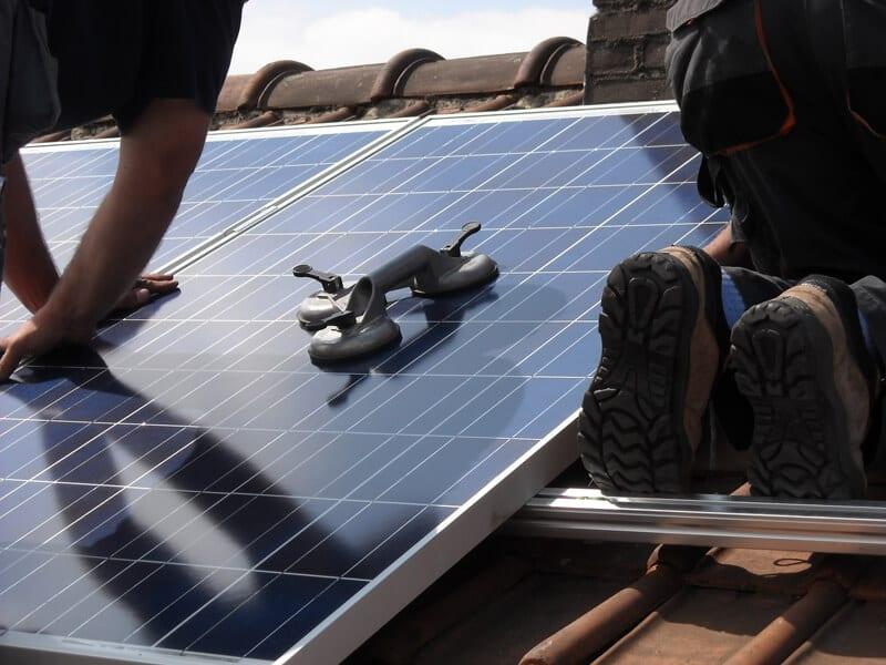 solceller opsætning Ølgod