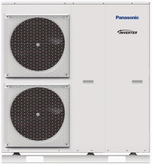 Udedel Panasonic luft vand 12 kw og 16 kw
