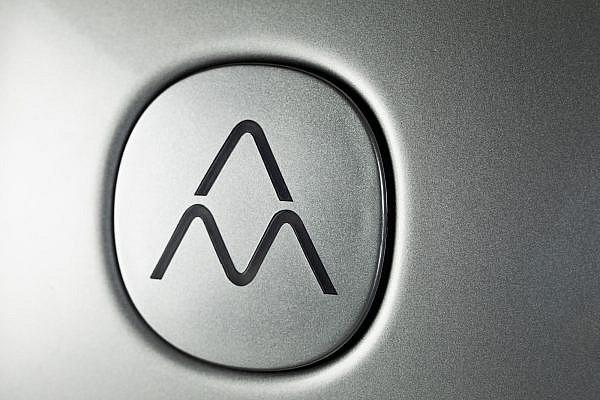 Close up af logo